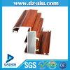 Windows 문에 의하여 양극 처리되는 나무로 되는 곡물을%s 6063 T5 대중적인 디자인 알루미늄 단면도