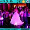 Dekking Door sterren verlicht Dance Floor van het Huwelijk van de afstandsbediening de Witte/Zwarte