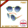 Form-Sonnenbrillen des Sommer-F6867 u. runde Gläser