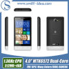 High Quality 4 Inch Mtk6572 Dual Core 3G Mobilephone with Multi Colors (H3039)