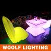Couleur de la lumière extérieure imperméable à l'eau rechargeable Meubles en plastique LED
