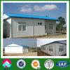 Estrutura de aço leve design de casa com o painel do tipo sanduíche com isolamento