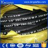 Mangueira de borracha hidráulica industrial reforçada de alta pressão flexível do petróleo do fio de aço (EN857 1SC)