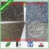 4 ' Blad van het Polycarbonaat van de Textuur van de Regendruppel van x8'3.5 mm het Kristal In reliëf gemaakte voor de Zaal van het Bad