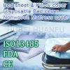 使い捨て可能なNonwoven Bed SheetおよびBed Cover