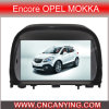 GPSのEncore Opel Mokka、Bluetooth (CY-8725)のための特別なCar DVD Player