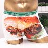 Fancy Printing를 가진 백색 Color Boxer Underwear