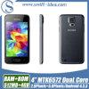 싼 가격 4.0  Smartphone 인조 인간 4.3 Mtk6572A Duad 코어에 의하여 자물쇠로 열리는 인조 인간 이동 전화 (H5W)