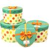 Papel de impresión personalizada Regalo cajas de cartón de embalaje ronda