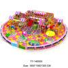 parque de diversões 40sqm com tema dos doces