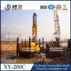 Véhicule à chenilles automoteur portable appareil de forage hydraulique xy-200c