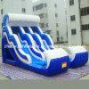 Wave grande Inflatable Water Slide com Pool