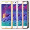 Bling Crystal Diamond Metal Frame Hard Caso Cover para Samsung Galaxy Note 4