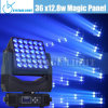 36X12.8W RGBW Used Moving Head Lights
