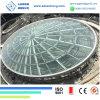 De bouw van Glas 6mm, 8mm, 10mm Weerspiegelende Gelamineerde Glasfabriek