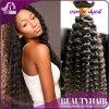 100%の人間の毛髪のねじれたカーリーヘアーの織り方自然なカラーねじれた巻き毛のバージンの毛拡張8-28インチの人間の毛髪の
