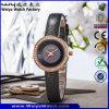 주문 상표 로고 석영 시계 형식 숙녀 손목 시계 (WY-090E)