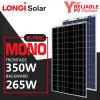 中国の高性能のLongiのBiPercの倍のガラス二重電気モノラル太陽電池パネル350W