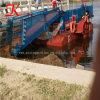 Coupe de mauvaises herbes aquatiques démontables algues drague d'aspiration pour l'exportation