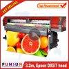 Funsunjet FS-3202M y 1440dpi Eco solvente impresora Impresión auto adhesivo con dos boquillas de Dx