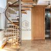 디자인 나선형 계단 /Wooden 대중적인 가정 나선형 계단