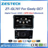 Wince6.0 de Speler van de Auto DVD van het Systeem voor Geely Gc7 met GPS Radio