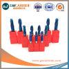 2,0X6X50 HRC60 Azul de carburo Nano Ballnose flauta 2 molinos de extremo