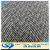 Tweed разноцветных точек шерстяной ткани, шерсть цвета точек матрицы рисунком елочкой