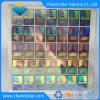 3D Demetalized personalizada etiqueta Holograma Rectángulo