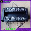 DMX Haz Etapa 8X10W LED Luz cabezal movible de araña