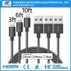 Soem-blaue und schwarze Farbe USB-Kabel-Daten-Kabel-Handy-Zubehör