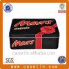 Hersteller-Vierecks-Plätzchen-Zoll geprägter Zinn-Kasten
