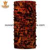 Le rouge tubulaire de foulard de polyester extérieur magique folâtre le Bandana