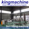 3000bph 3 automáticos em 1 máquina de enchimento engarrafada da água