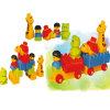 Brinquedo feliz dos blocos de apartamentos das crianças do fornecedor do ouro de China