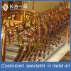Modificado para requisitos particulares del estilo de Europa de acero inoxidable Barandilla de escalera de cubierta