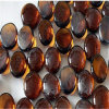 Rokerig het Tuinieren van de Kiezelstenen van het Glas Materiaal