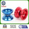 I pezzi meccanici di alluminio su ordinazione di CNC di precisione hanno anodizzato il giocattolo della sfera del yo-yo
