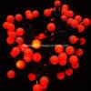 Bola Mllky cadenas de la burbuja de nivel de iluminación para la decoración de fiesta