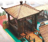 Pavillon antique/Gazebo en bois (SC-Y004)