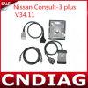para Nissan Consult-3 Plus V34.11 para Nissan Diagnostic y Programming Tool