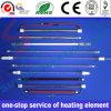 Elemento de aquecimento radiante do calefator de quartzo de alta temperatura