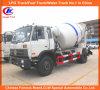 Misturador concreto misturado pronto do caminhão do caminhão 5m3 6m3 de Dongfeng
