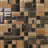 Bathroom and Kitchen Tile Brown Crystal Glass Mosaic (HGM243)