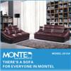 Corte transversal de couro moderno sofá, sofá de lazer, Sofá Definido