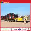 Multi-Axle Lowbed Semi Truck Trailer für Transport The Special Equipments