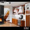 De Welbom da madeira contínua de Brown armário 2016 de cozinha clássico