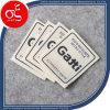 Fabrik Price Canvas Brand Logo Printing Label für Clothing Label