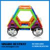 Plástico que conecta el juguete magnético de las formas de los coches
