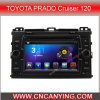 Car DVD Player for Pure Android 4.4 Car DVD Player with A9 CPUS Capacitive Touch Screen GPS Bluetooth for Toyota Prado (AD-7688)